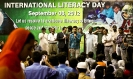 Seminar and Walk on International Literacy Day 2012